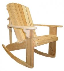 Adirondack Rocker I can build over 20 Western Red Cedar items.  Some of the Adirondack Chairs have an over-sized model. And most of the Adirondack Chairs have a straight leg model, a rocker model and a glider version.  The Adirondack Chair is the most popular product, but, other Western Red Cedar items include:Straight Leg Love Seat